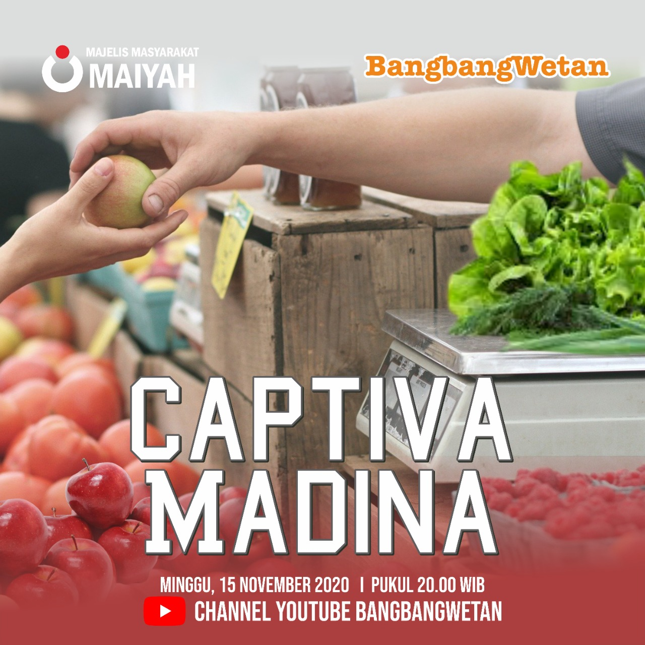 Captiva Madina – Prolog BangbangWetan November 2020